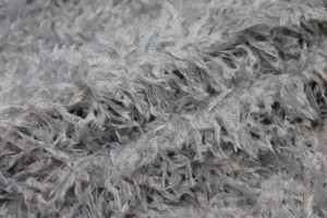 """Faux Feather"" Fabric - Blue Grey"