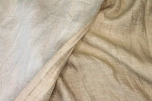 Reversible Two-Tone Linen - Natural