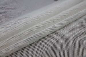 Plastic Laminated Spacer Tech Mesh - Ivory