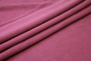 Organic Cotton Jersey - Burgundy