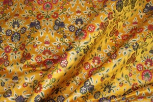 Heavy Banaras Brocade - New Yellow/Multi