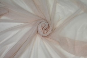 Soft Nylon Tulle - Powder Pink - T52