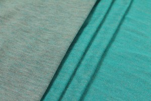 Two Tone Viscose Jersey - Turquoise