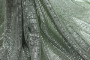 Sheer Shimmer Jersey - Sea Spray Silver