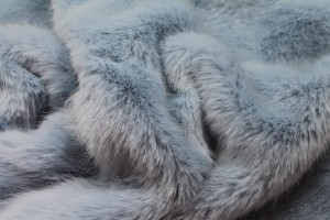 Faux Fur - Deep Pile Pale Blue