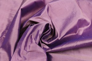 Silk Dupion - Purple Shot Pink