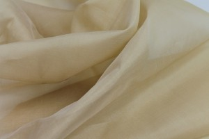 Silk Organza - Pale Gold