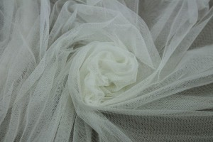 Soft Nylon Tulle - Cream - T3