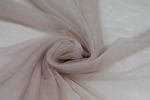 Soft Nylon Tulle - Powder Pink - T42