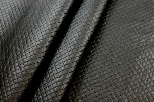 Quilted Leatherette - Black