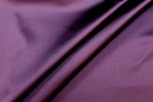 Stretch Duchesse Satin - Aubergine