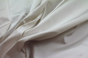 Stretch Duchesse Satin - Ivory
