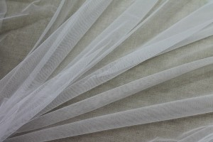 Stretch Illusion Tulle - Ivory