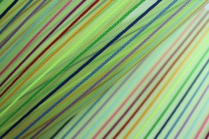 Rainbow Stripe Crin - Neon Green
