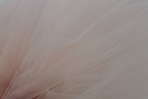 Nylon Veiling Tulle - Pale Pink