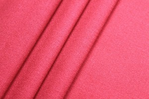 Wool Crepe - Red